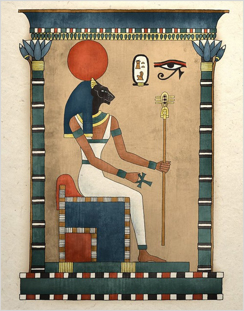 Богиня плодородия и материнства Бастет