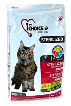1st Choice STERILIZED for ADULT CATS