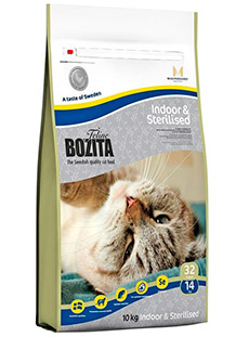 BOZITA SUPER PREMIUM для стерилизованных кошек