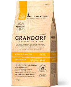 Grandorf 4 Meat & Brown Rice Sterilized