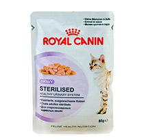 Roeal Canin Sterilized из мясных кусочков