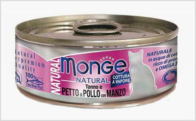 Monge Cat Natural консервы для кошек
